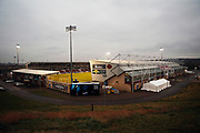 General View outside the PTS Academy Stadium ahead of the The FA Cup match between Northampton Town and Derby County at the PTS Academy Stadium, Northampton, England on 24 January 2020.