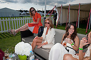 MARGOT STILLEY; CAMILLA MACKINTOSH, Cartier International Polo. Smiths Lawn. Windsor. 24 July 2011. <br /> <br />  , -DO NOT ARCHIVE-© Copyright Photograph by Dafydd Jones. 248 Clapham Rd. London SW9 0PZ. Tel 0207 820 0771. www.dafjones.com.