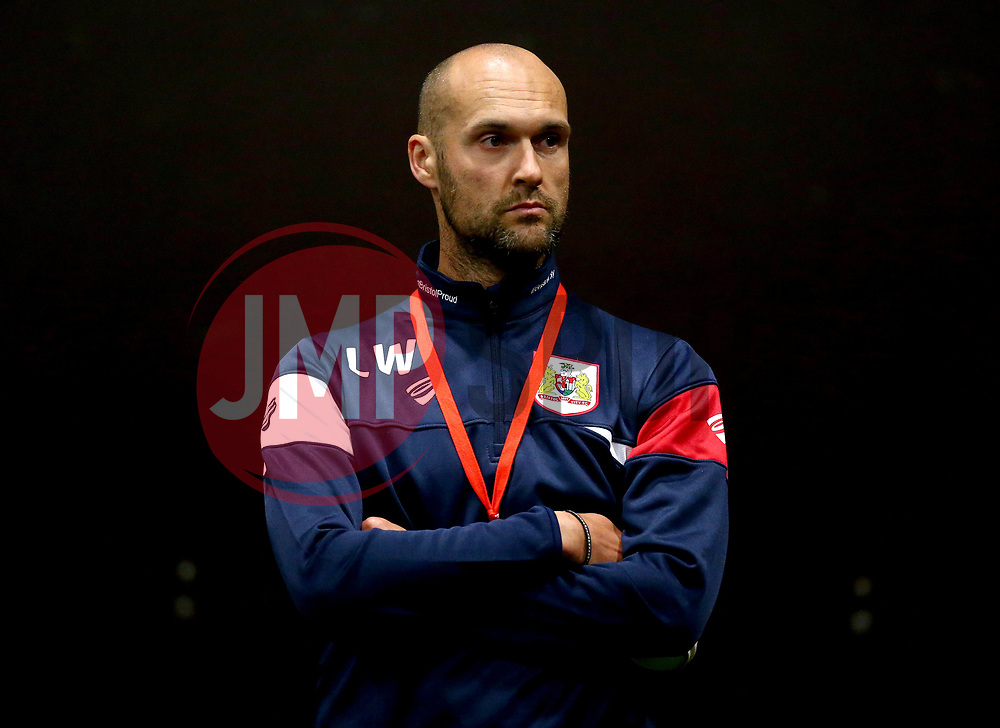 Bristol City Under 23's head coach Luke Williams oversees Bristol City Under 23's return to training with fitness testing ahead of the 2017/18 season - Mandatory by-line: Robbie Stephenson/JMP - 30/06/2017 - FOOTBALL - SGS Wise Campus - Bristol, United Kingdom - Bristol City Under 23's Fitness Tests