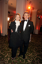 ARNAUD & CARLA BAMBERGER at the annual Cartier Racing Awards held at the Grosvenor House Hotel, Park Lane, London on 17th November 2008.
