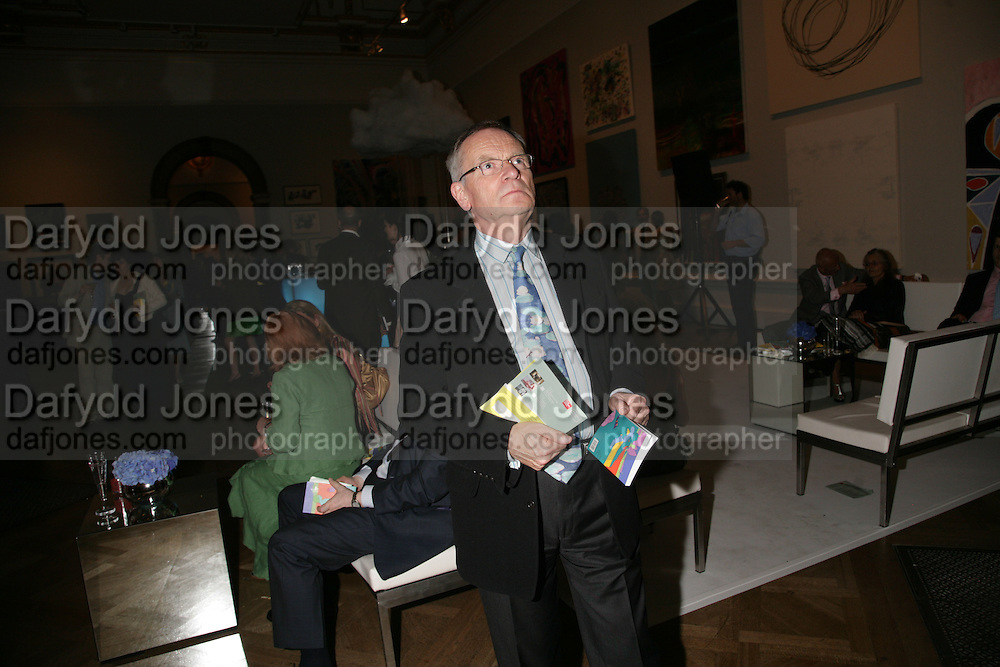JEFFREY ARCHER, Royal  Academy of  Arts summer exhibition opening night. Royal academy. Piccadilly. London. 6 June 2007.  -DO NOT ARCHIVE-© Copyright Photograph by Dafydd Jones. 248 Clapham Rd. London SW9 0PZ. Tel 0207 820 0771. www.dafjones.com.