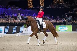 Verreet Katrien, BEL, Oblix van de Kempenhoeve<br /> Jumping Mechelen 2019<br /> © Hippo Foto - Sharon Vandeput<br /> 29/12/19