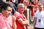 Manchester United Manager Jose Mourinho during the Manchester United and Liverpool International Champions Cup match at the Michigan Stadium, Ann Arbor, United States on 28 July 2018.