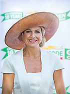 Queen Maxima of The Netherlands attends the Postcode Lottery Green Challenge International competition for starting sustainable entrepreneurs at the Westergasfabriek in Amsterdam, The Netherlands, 14 September 2016. Koningin Máxima is woensdagmiddag 14 september in de Gashouder in Amsterdam aanwezig bij de finale van de 10e editie van de Postcode Lottery Green Challenge, een internationale wedstrijd voor startende duurzame ondernemers. copuyright robin utrecht