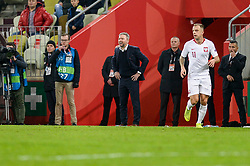 November 15, 2018 - Gdansk, Poland, Head coach of Polish team JERZY BRZECZEK during football friendly match between Poland - Czech Republic at the Stadion Energa in Gdansk, Poland