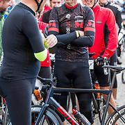 NLD/Amersfoort/20180929 - Bn-er fietsen de Zuiderzee Klassieker 2018, Gert Jacobs en Steven Rooks