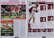 All Ireland Senior Hurling Championship - Final,.11.09.2005, 09.11.2005, 11th Septemeber 2005,.Minor Galway 3-12, Limerick 0-17,.Senior Cork 1-21, Galway 1-16,.11092005AISHCF,.Reardens, .