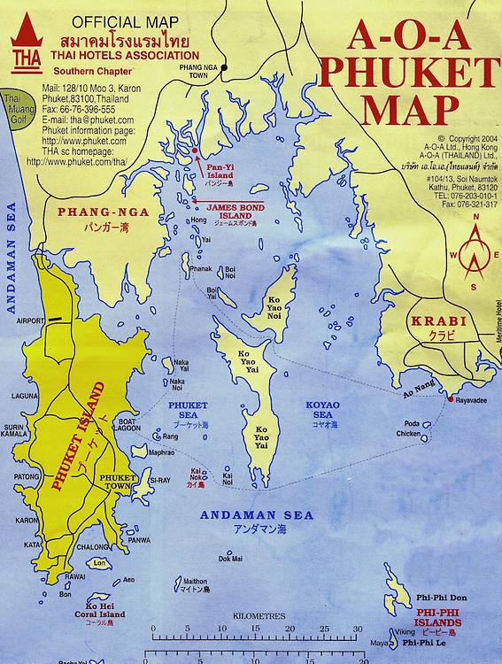 Map of phuket island tsunami region in thailand encircle photos map of phuket island tsunami region in thailand br phuket is an island gumiabroncs Choice Image