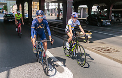 25.04.2018, Innsbruck, AUT, ÖRV Trainingslager, UCI Straßenrad WM 2018, im Bild v.l.: Stefan Denifl (AUT), Laura Stigger (AUT) // during a Testdrive for the UCI Road World Championships in INNSBRUCK, Austria on 2018/04/25. EXPA Pictures © 2018, PhotoCredit: EXPA/ JFK