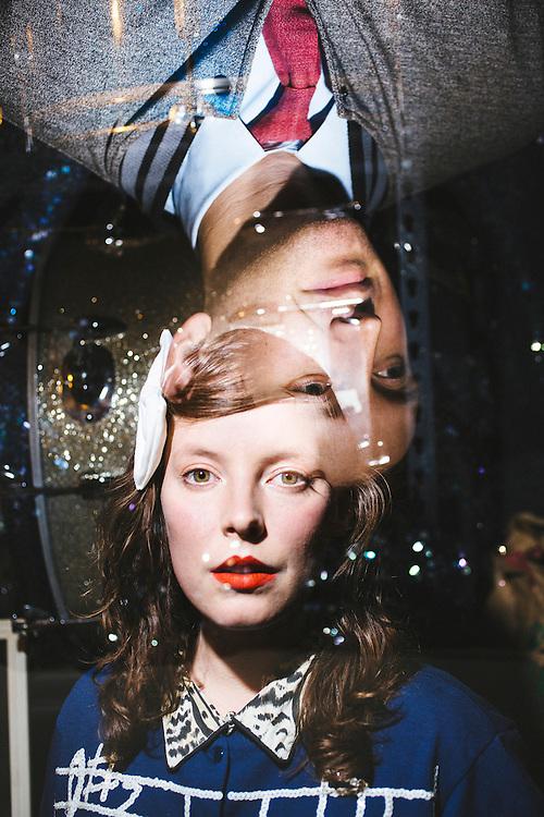 Sylvan Esso, Amelia Meath and Nick Sanborn, for Partisan Records.