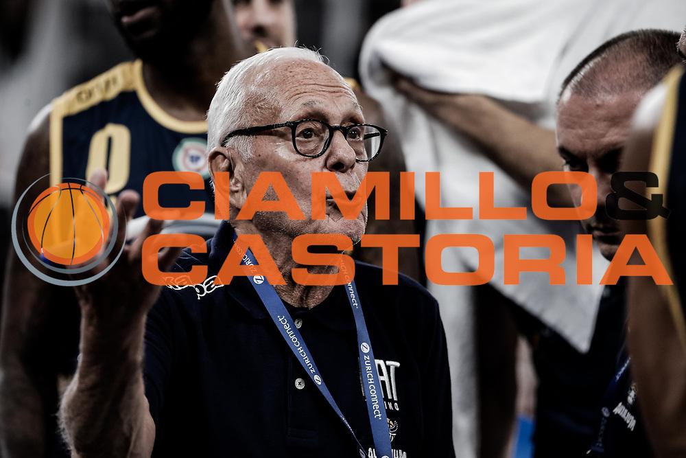 Larry Brown<br /> A | X Armani Exchange Milano - Fiat Auxillium Torino<br /> LBA Lega Basket Serie A<br /> Zurich Connect Supercoppa 2018<br /> Brescia, 30/09/2018<br /> Foto MarcoBrondi / Ciamillo-Castoria
