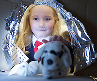 21/01/2016 Lily Anna Coyne Pender, getting spot X- rayed from Carnmore NS at the 11th Annual Teddy Bear Hospital in NUI, Galway where Med students get used to dealing with kids and Kids get used to a hospital setting with their sick teddy bears.Photo:Andrew Downes