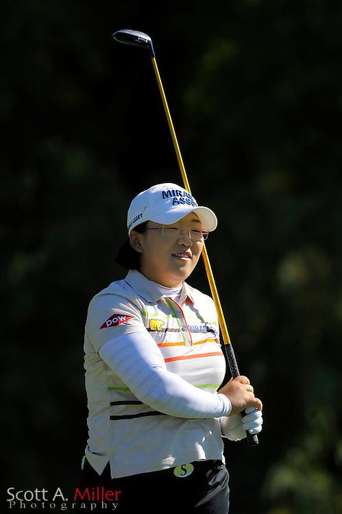 Professional golfer Jiyai Shin of Korea during the LPGA Tour Championship Pro-Am at Grand Cypress Resort on Dec. 1, 2010 in Orlando, Florida... ©2010 Scott A. Miller