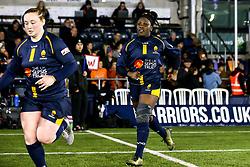 Akina Gondwe of Worcester Warriors Women - Mandatory by-line: Robbie Stephenson/JMP - 11/01/2020 - RUGBY - Sixways Stadium - Worcester, England - Worcester Warriors Women v Richmond Women - Tyrrells Premier 15s