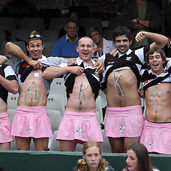 General views of Rugby fans