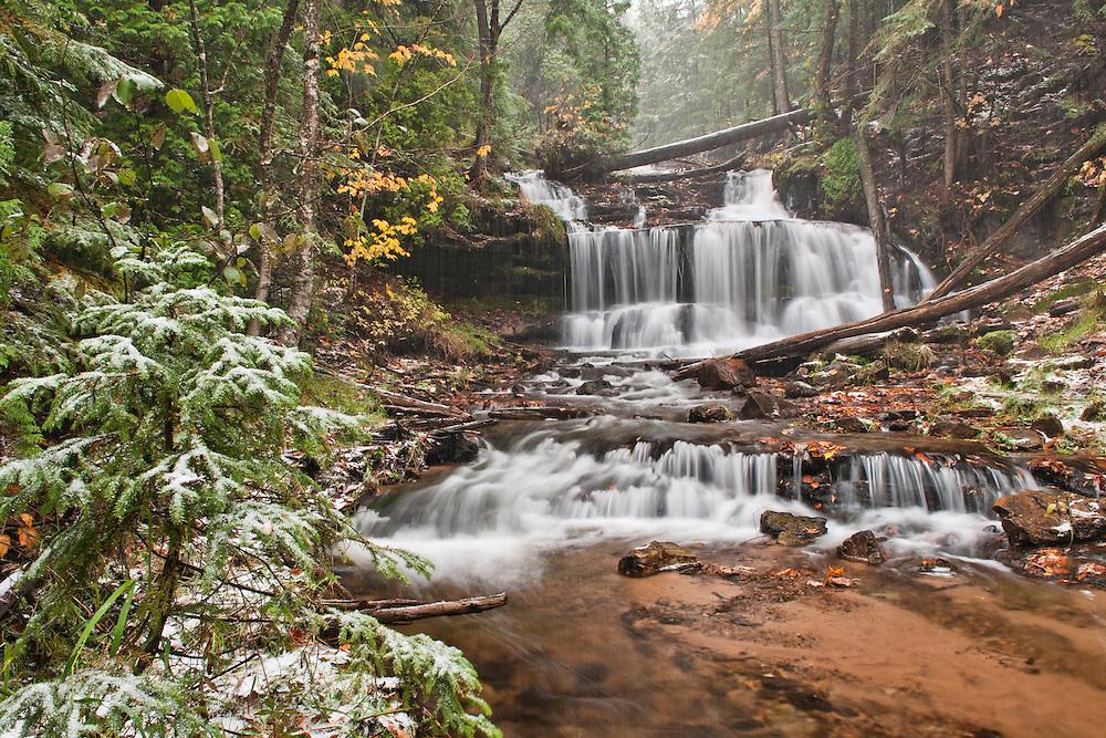 Wagner Falls,<br /> Munising, Michigan