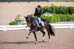 Merkulova Inessa, RUS, Mister X<br /> World Equestrian Games - Tryon 2018<br /> © Hippo Foto - Dirk Caremans<br /> 13/09/18