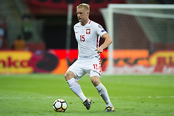 October 8, 2017 - Warsaw, Poland - Kamil Glik of Poland controls the ball during the FIFA World Cup 2018 Qualifying Round Group E match between Poland and Montenegro at National Stadium in Warsaw, Poland on October 8, 2017  (Credit Image: © Andrew Surma/NurPhoto via ZUMA Press)