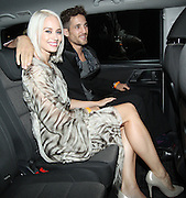 24.SEPTEMBER.2013. LONDON<br /> <br /> KIMBERLEY WYATT AND BOYFRIEND MAX ROGERS SEEN LEAVING THE HAMMERSMITH APOLLO IN LONDON AFTER WATCHING LIVE AT THE APOLLO. KIMBERLEY WAS SEEN WEARING A DIAMOND RING ON HER ENGAGEMENT FINGER<br /> <br /> BYLINE: EDBIMAGEARCHIVE.CO.UK<br /> <br /> *THIS IMAGE IS STRICTLY FOR UK NEWSPAPERS AND MAGAZINES ONLY*<br /> *FOR WORLD WIDE SALES AND WEB USE PLEASE CONTACT EDBIMAGEARCHIVE - 0208 954 5968*