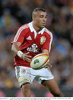 15 June 2013; Simon Zebo, British & Irish Lions. British & Irish Lions Tour 2013, NSW Waratahs v British & Irish Lions, Allianz Stadium, Sydney, NSW, Australia. Picture credit: Stephen McCarthy / SPORTSFILE