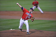 Ole Miss' Sam Smith vs. Murray State at Oxford-University Stadium in Oxford, Miss. on Wednesday, May 2, 2012.