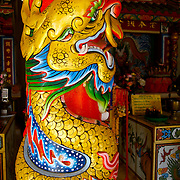 Saan Chao Pho Laem Sing Chinese temple at Laem Sing, Chantaburi province, Thailand