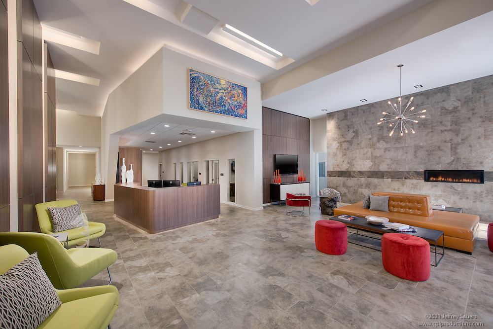 Interior Design Image of Four City Center Apartments in Allentown PA by Jeffrey Sauers of Commercial Photographics, Architectural Photo Artistry in Washington DC, Virginia to Florida and PA to New England