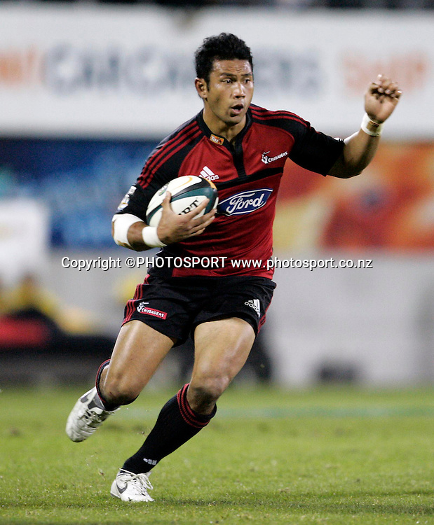 Casey Laulala. Super 14 Final, Crusaders v Waratahs, AMI Stadium, Christchurch, Saturday 31 May 2008. Photo: Tim Hales/PHOTOSPORT