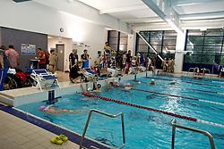Training and warmup pool  at 2015 IPC Swimming World Championships -