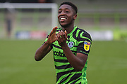 Forest Green Rovers Ebou Adams(14) during the EFL Sky Bet League 2 match between Forest Green Rovers and Crawley Town at the New Lawn, Forest Green, United Kingdom on 5 October 2019.