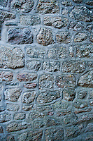 Old castle stone and mortar texture at Mont-Saint-Michel, France