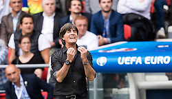 21.06.2016, Parc de Princes, Paris, FRA, UEFA Euro 2016, Nordirland vs Deutschland, Gruppe C, im Bild Coach Joachim Loew (GER) // Coach Joachim Loew (GER) during Group C match between Nothern Ireland and Germany of the UEFA EURO 2016 France at the Parc de Princes in Paris, France on 2016/06/21. EXPA Pictures © 2016, PhotoCredit: EXPA/ JFK