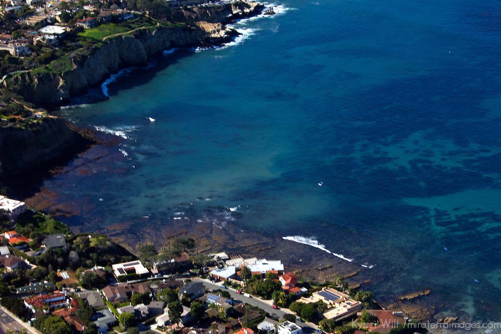 USA, California, San Diego. Aerial View of La Jolla, California.
