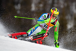 17.02.2019, Aare, SWE, FIS Weltmeisterschaften Ski Alpin, Slalom, Herren, 1. Lauf, im Bild Stefan Hadalin (SLO) // Stefan Hadalin of Slovenia in action during his 1st run of men's Slalom of FIS Ski World Championships 2019. Aare, Sweden on 2019/02/17. EXPA Pictures © 2019, PhotoCredit: EXPA/ Johann Groder