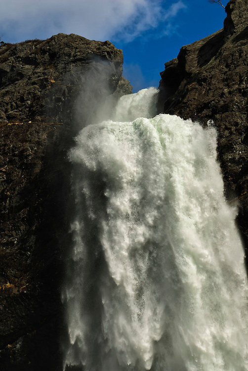Månafossen. The most majestic waterfall in Rogaland county.