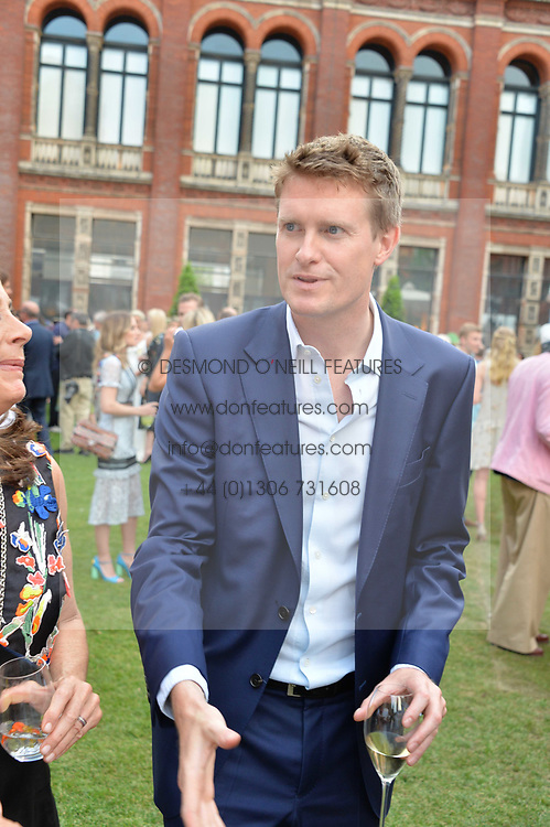 Tristram Hunt MP at the V&A Summer Party 2017 held at the Victoria & Albert Museum, London England. 21 June 2017.<br /> Photo by Dominic O'Neill/SilverHub 0203 174 1069 sales@silverhubmedia.com
