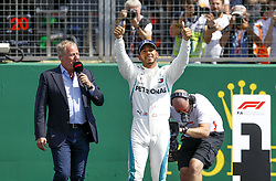 July 7, 2018 - Silverstone, Great Britain - Motorsports: FIA Formula One World Championship 2018, Grand Prix of Great Britain, .#44 Lewis Hamilton (GBR, Mercedes AMG Petronas Motorsport) (Credit Image: © Hoch Zwei via ZUMA Wire)