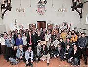 Marionnettistes à l'hôtel de ville d'Outremont lors du 12e Festival de Casteliers, marionnettes pour adultes et enfants - 2017 à  Hôtel de ville / Outremont / Canada / 2017-03-10, Photo © Marc Gibert / adecom.ca