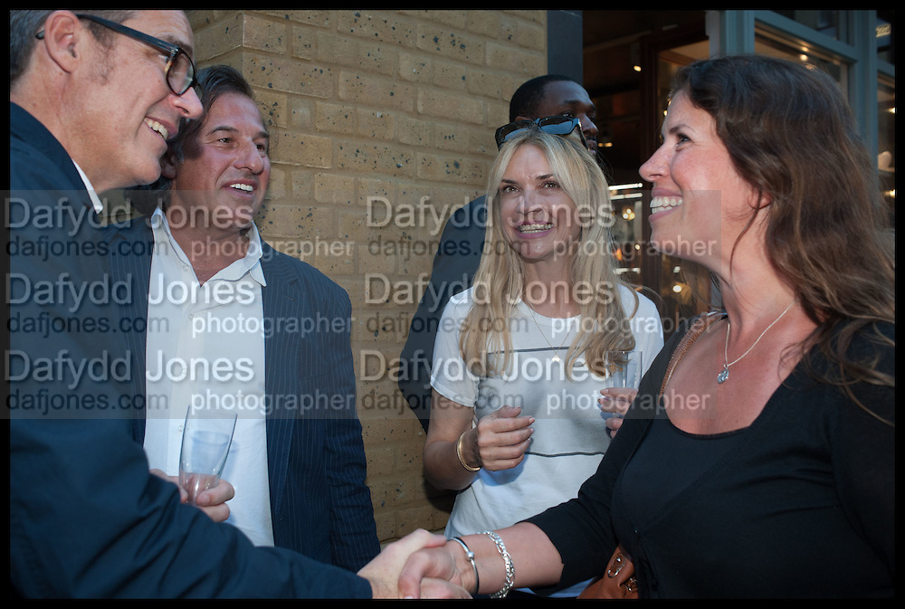 STEVE ORMANDY; ANDY AHRRIS; ; KATIE MILLARD; EMMA KAMAN, Dinosaur Designs launch of their first European store in London. 35 Gt. Windmill St. 18 September 2014