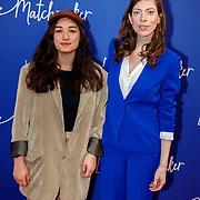 NLD/Amsterdam/20180418 - Premiere De Matchmaker, Hanna Bervoets en .........