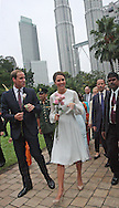 "CATHERINE, DUCHESS OF CAMBRIDGE AND PRINCE WILLIAM.visit a cultural event in Kuala Lumpur. In the background in the famous Petronas Twin Towers_14/09/2012..Mandatory credit photo: ©NEWSPIX INTERNATIONAL..(Failure to credit will incur a surcharge of 100% of reproduction fees)..                **ALL FEES PAYABLE TO: ""NEWSPIX INTERNATIONAL""**..IMMEDIATE CONFIRMATION OF USAGE REQUIRED:.DiasImages, 31a Chinnery Hill, Bishop's Stortford, ENGLAND CM23 3PS.Tel:+441279 324672  ; Fax: +441279656877.Mobile:  07775681153.e-mail: info@newspixinternational.co.uk"