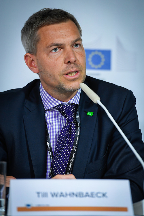 20160616 - Brussels , Belgium - 2016 June 16th - European Development Days - Ending hunger and undernutrition - It can be done faster - Till Wahnbaeck , CEO , Welthungerhilfee © European Union