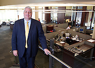 Larry Helling, President of Cedar Rapids Bank & Trust, at their downtown branch in Cedar Rapids, Iowa on Monday, August 20, 2012. .