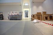 Mannheim. 08.11.17 | Zum Neubau Kunsthalle<br /> Innenstadt. Kunsthalle. Pressegespräch zum Neubau der Neuen Kunsthalle. Die Eröffnung der Neuen Kunsthalle im Dezember nur mit Skulpturen - keine Gemälde wegen technischen Verzögerungen.<br /> <br /> <br /> <br /> <br /> BILD- ID 01559 |<br /> Bild: Markus Prosswitz 08NOV17 / masterpress (Bild ist honorarpflichtig - No Model Release!)