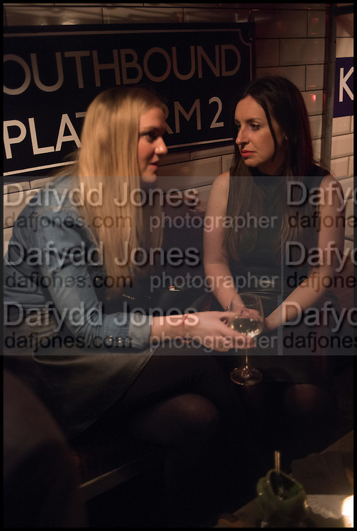 CHARLOTTE HEYWOOD; LOUISE SAUNDERS, Cahoots club launch party, 13 Kingly Court, London, W1B 5PW  26 February 2015