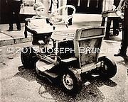 Child and Massey-Ferguson<br /> 8x10 tintype on aluminum.