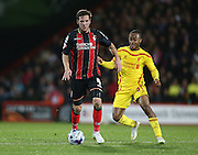 AFC Bournemouth midfielder Dan Gosling during the Capital One Cup match between Bournemouth and Liverpool at the Goldsands Stadium, Bournemouth, England on 17 December 2014.