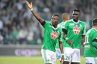Joie Max Alain GRADEL - 23.05.2015 - Saint Etienne / Guingamp - 38e journee Ligue 1<br />Photo : Jean Paul Thomas / Icon Sport