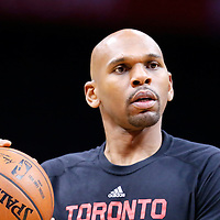 22 November 2015:  Toronto Raptors Assistant coach Jerry Stackhouse is seen prior to the Toronto Raptors 91-80 victory over the Los Angeles Clippers, at the Staples Center, Los Angeles, California, USA.