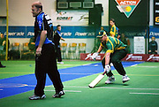 South Africa (batting) vs New Zealand. 2003 World Masters Indoor Cricket championship, Christchurch, New Zealand